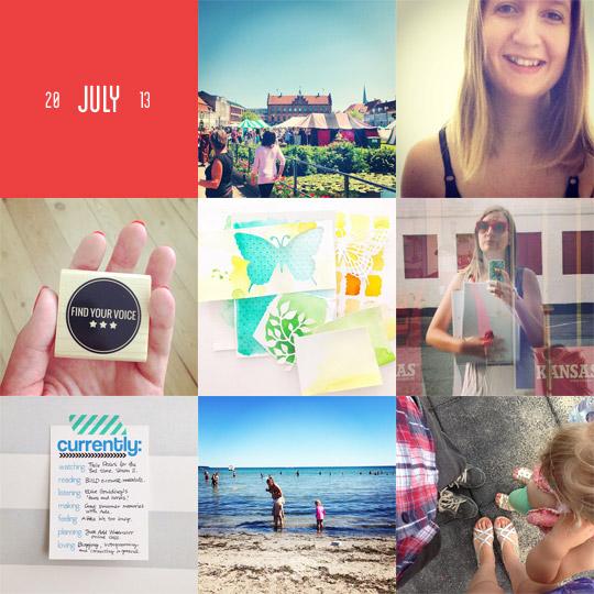 Wrap Up July 2013 // ninachristensen.dk