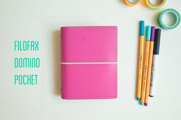Filofax Domino Pocket Pink review by Nina Christensen