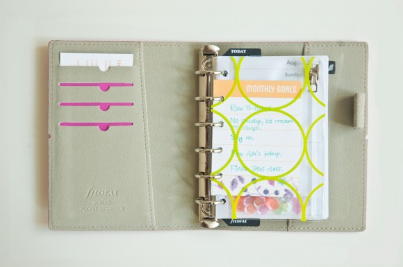 Filofax Domino Pocket Pink review by Nina Christensen