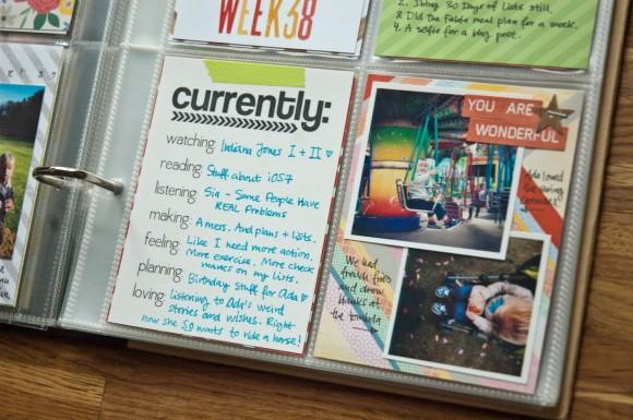 Project Life week 38 // ninachristensen.dk