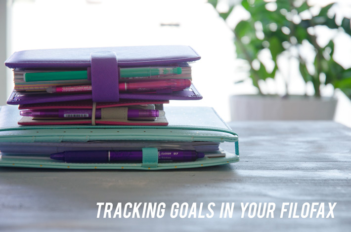 #ittybittygoals | Part 2 of 3 + Tracking goals in your Filofax