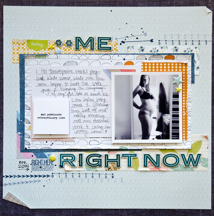 12 in 14 December | Me Right Now | Scrapbooking Challenge | Paper Nerd