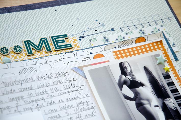 12 in 14 December | Me Right Now | Scrapbooking Challenge | Paper Nerd