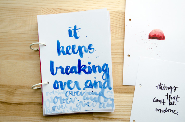It keeps breaking | Get Messy Art Journaling