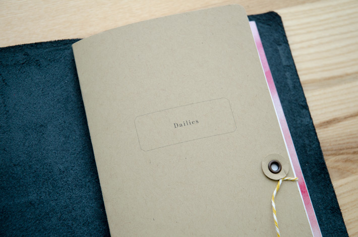 DIY String Closure for your Traveler's Notebook | Tutorial