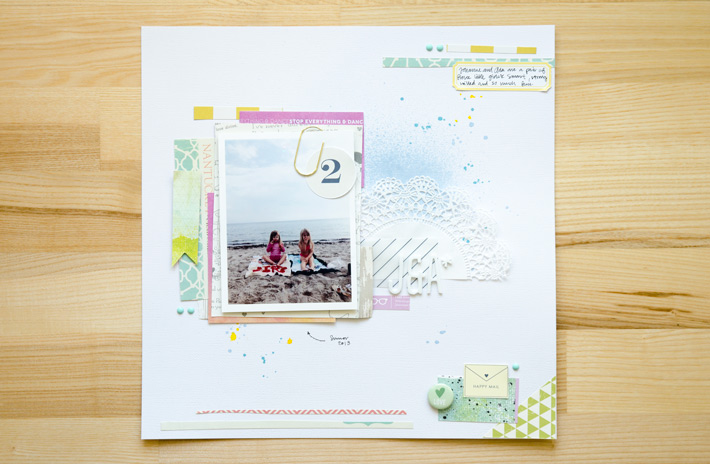 J & A | Scrapbooking Layout