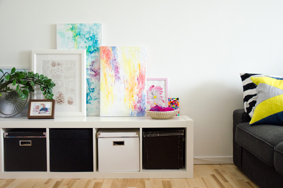 DIY Abstract Watercolor Painting – Super Easy! With video Tutorial