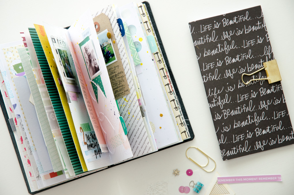 Scrap Small | Bite sized memory-keeping in your Traveler's Notebook