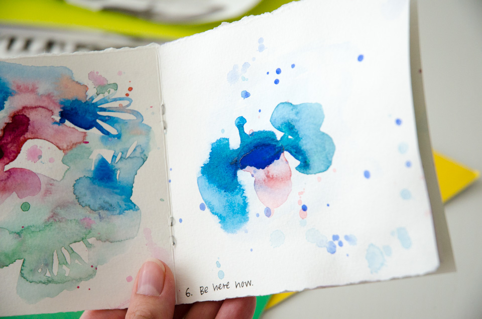 How to do Abstract Watercolor – With Free Painting Prompts - Paper ...