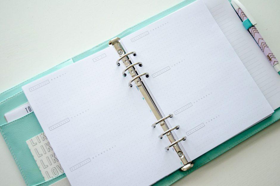 Dot Grid Journal New Academic Planner For 2017 18