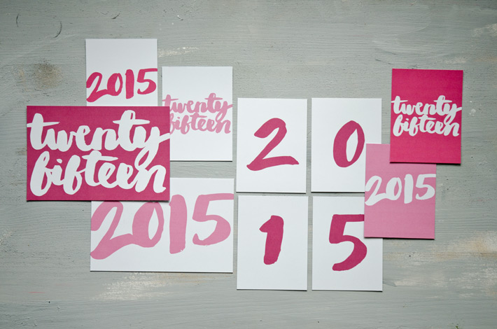Hello Twenty Fifteen | Free Printable