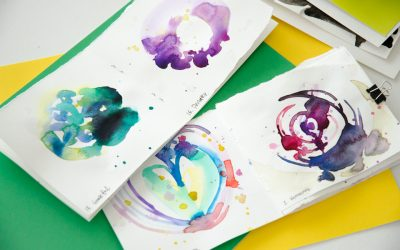 How to do Abstract Watercolor – With Free Painting Prompts